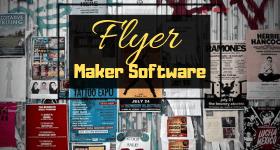 Flyer maker software