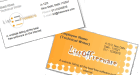 Free business card maker featured image