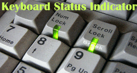 Keyboard Status Indicator