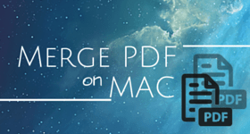 Merge PDF on MAC