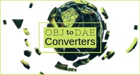 OBJ to DAE Converter