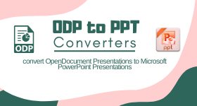 ODP to PPT converter