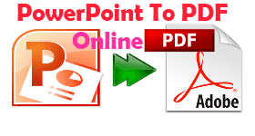 Online PowerPoint to PDF
