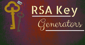 RSA key generator