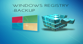 WINDOWS REGISTRY BACKUP