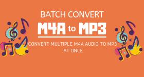 batch convert m4a to mp3