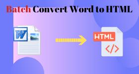 batch convert word to html
