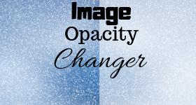 change image opacity