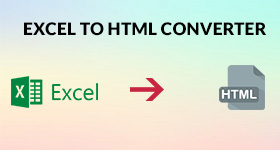 excel to html converter