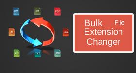 bulk file extension changer
