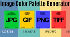 image color palette generator