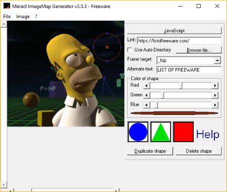 meracl imagemap generator