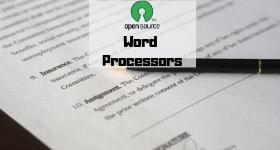 open source word processor