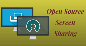 open source screen sharing