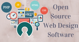 open source web design software