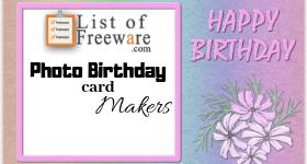Photo Birthday Card Maker