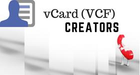 vCard creator