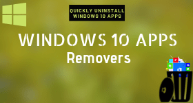 windows 10 apps remover