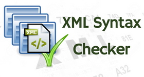 xml syntax checker