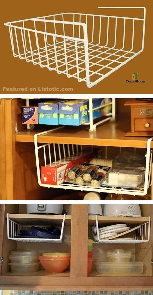 12 Easy Kitchen Organization Ideas For Small Spaces DIY