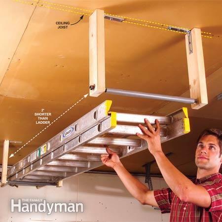 Extension Ladder Storage Solutions