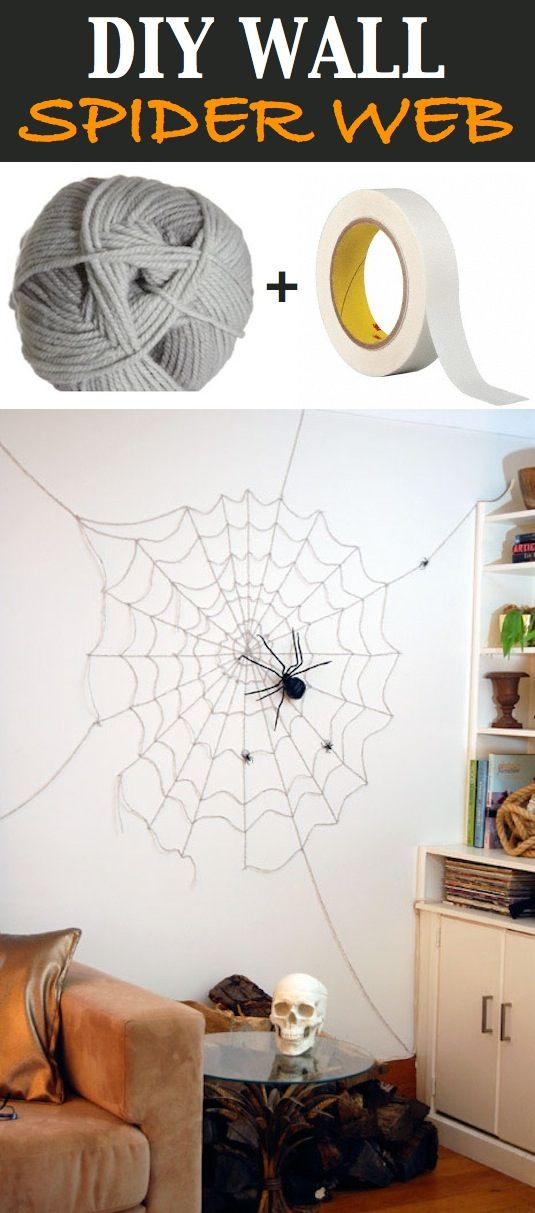 16 Easy Awesome Homemade Halloween Decorations