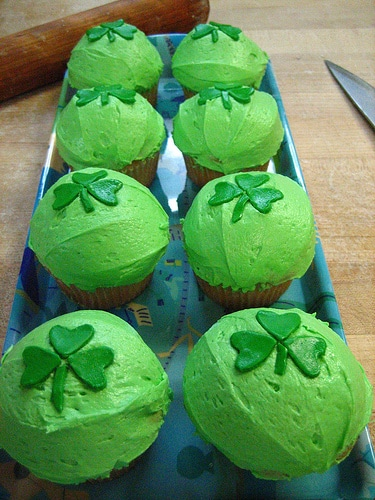 list of green foods to serve this saint patrick's day   ListPlanIt.com