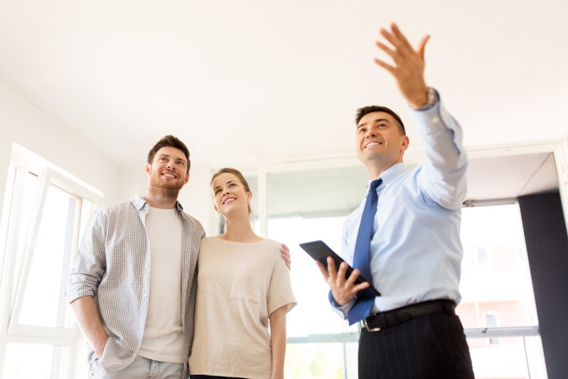 Buyer agents bring buyers and show the home