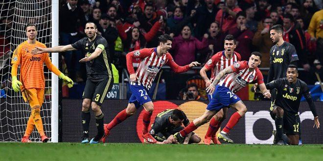 Sang club papan Atas Juventus Berhasil Di permalukan Di kandang Club Skuat Atletico Madrid Pada Laga Liga Champions
