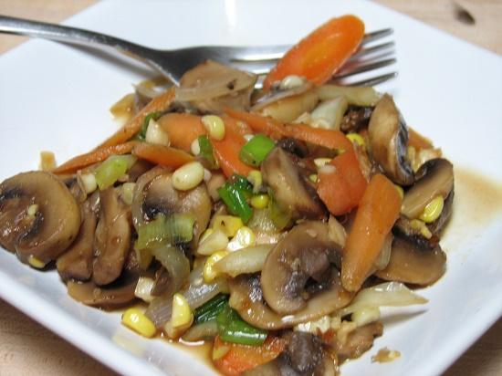 Bahan Makanan jamur