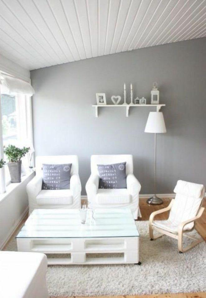D co salon fauteuil en palette pas cher palette meuble dans le salon moder - Fauteuil salon moderne ...