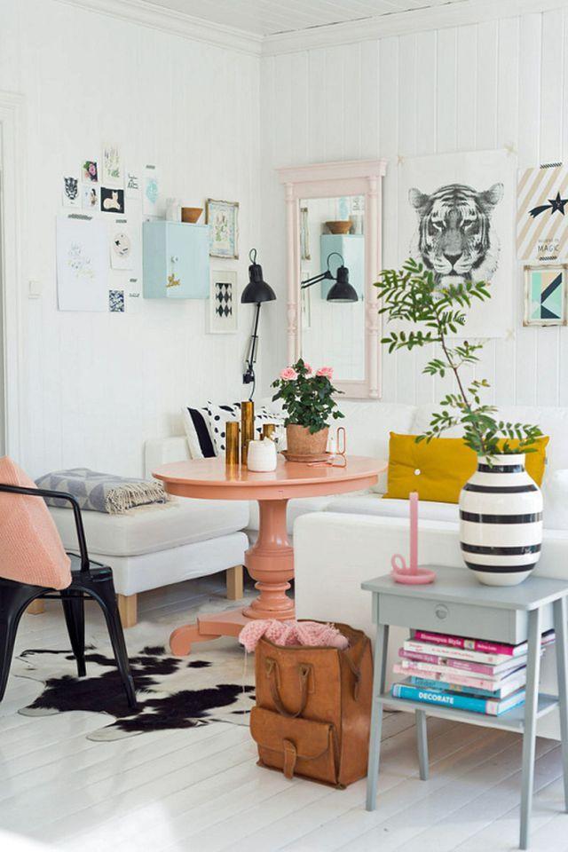 D Co Salon Un Petit Salon Beau Et Moderne