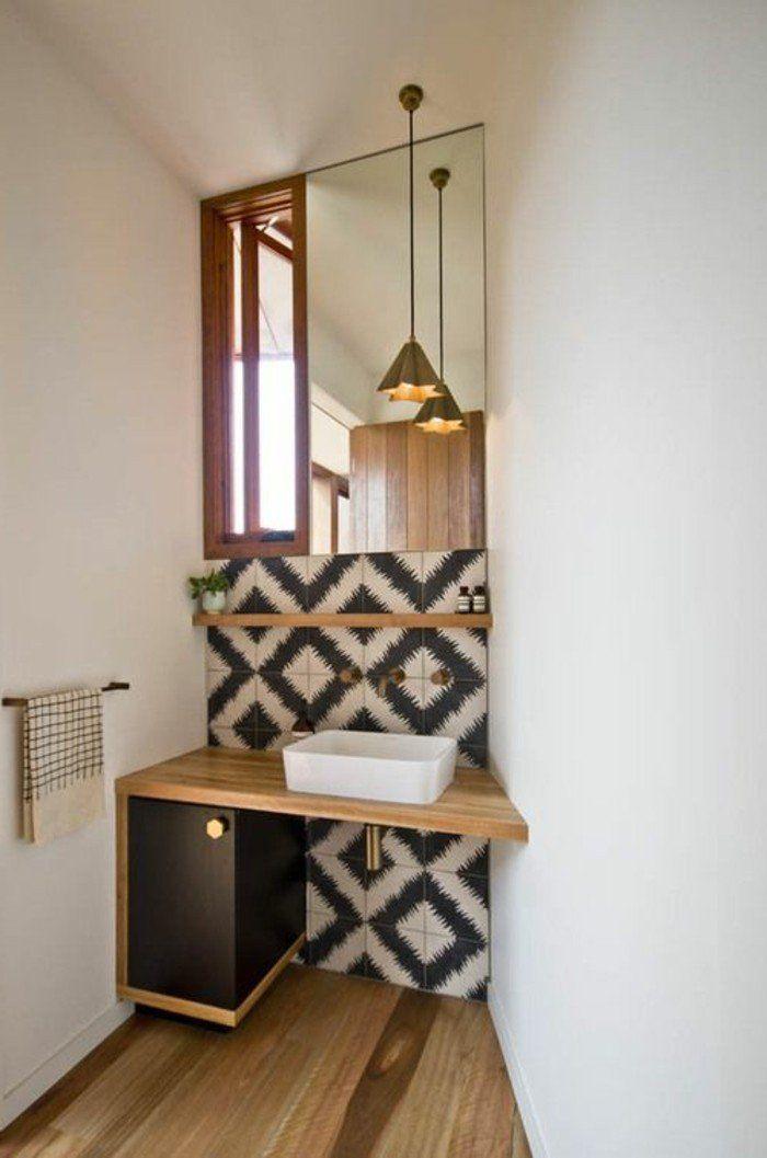 Id e d coration salle de bain idee salle de bain petite for Idee petite salle de bain 2m2