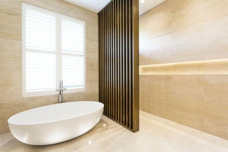 Id e d coration salle de bain salle de bains avec for Decor mural salle de bain