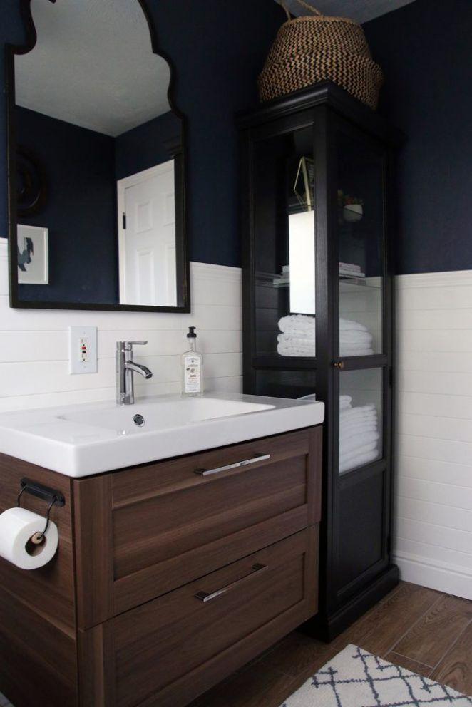 id e d coration salle de bain ikea vanity and linen. Black Bedroom Furniture Sets. Home Design Ideas