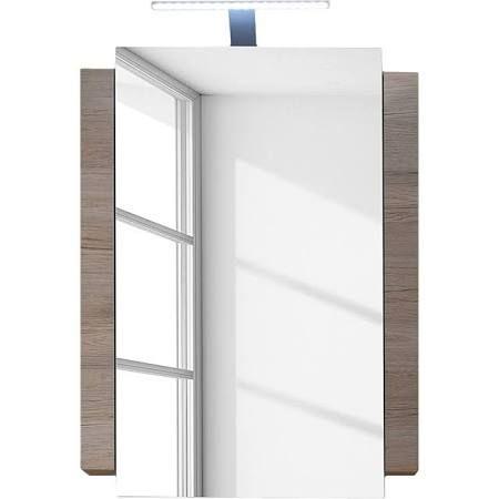 Id e d coration salle de bain placard miroir salle de for Miroir salle de bain bois