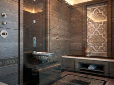 Id e d coration salle de bain white bathroom design for Modele de salle de bain marocaine