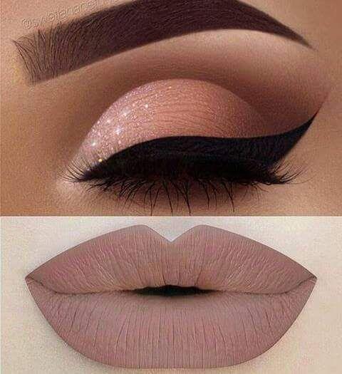 Conseils Maquillage 2017 / 2018 \u2013 Le maquillage des yeux et le rouge à  lèvres EyeMakeup Makeup Lipstick \u2026