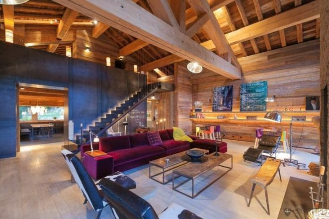 Best Salon Chalet Montagne Gallery - Home Decorating Ideas ...