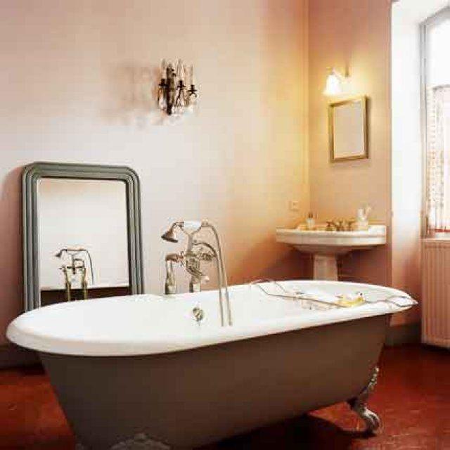 ide dcoration salle de bain salle de bain ancienne esprit campagne chic - Esprit Campagne Chic