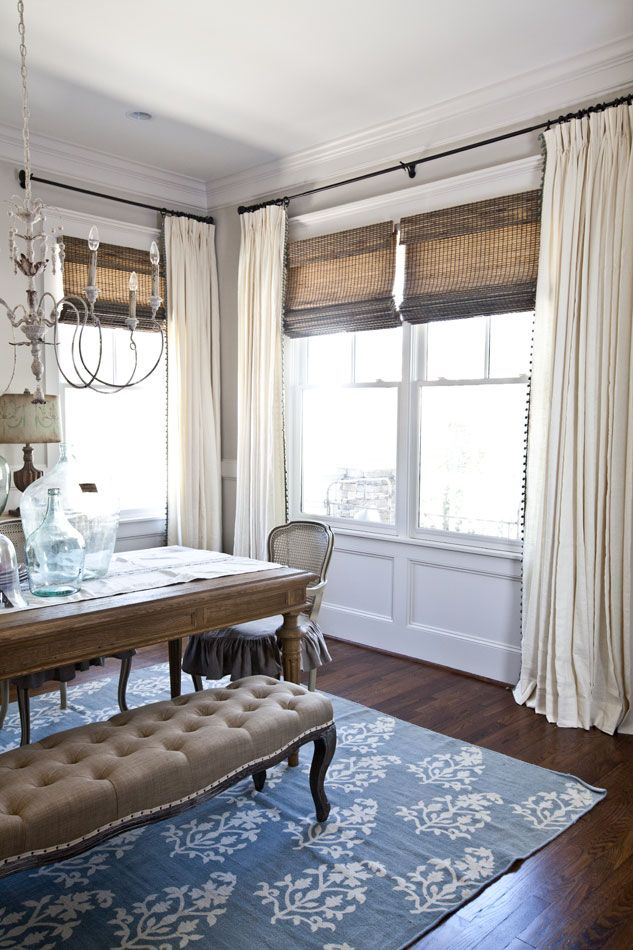 Salle à manger - New curtains for the dining room | Bali Blinds ...