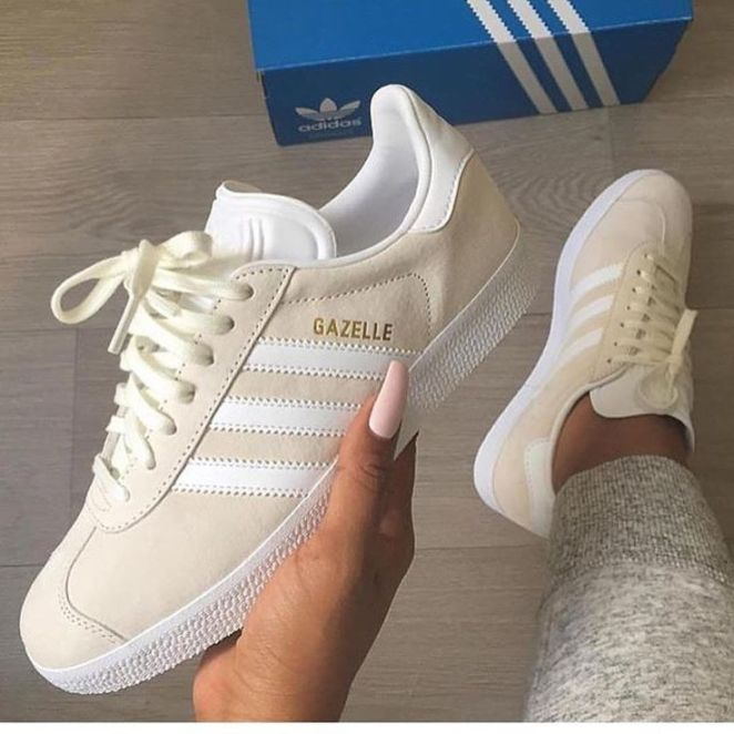 Tendance basket 2017 sneakers femme adidas gazelle sherlinanym - Gazelle gris clair ...