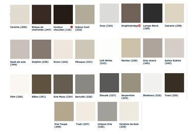 Salle manger nuancier peinture grise 28 couleurs - Nuancier peinture couleur pastel ...