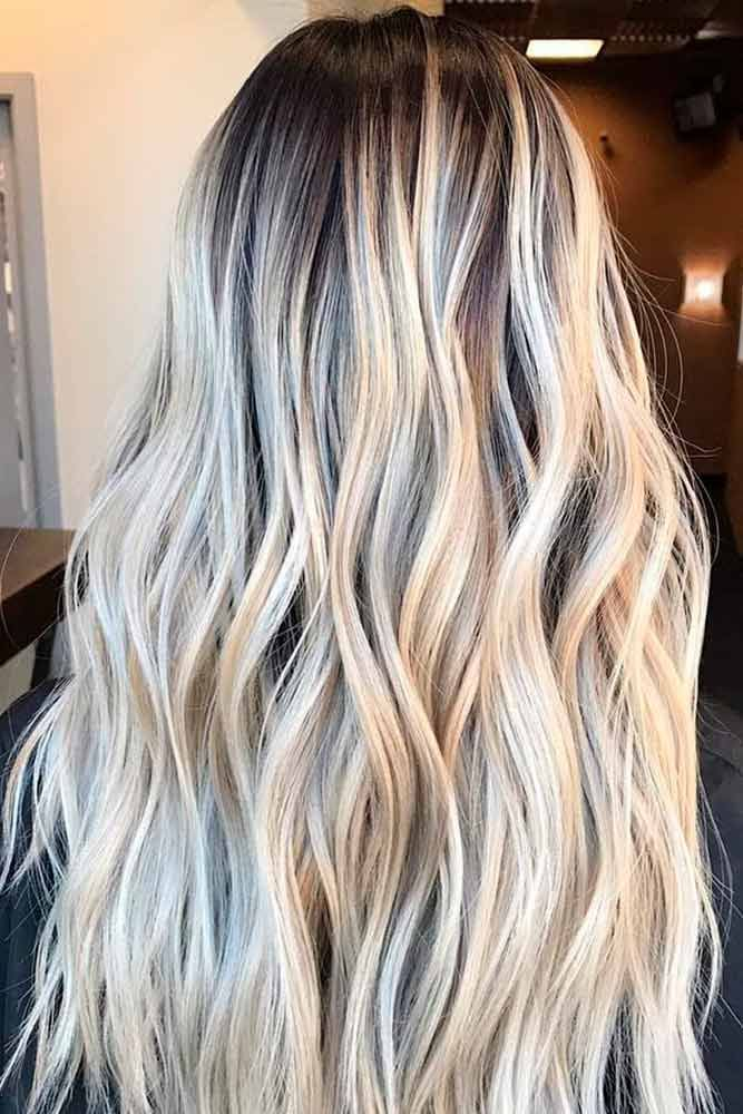couleur ombr blond cool two colors ombre clip in hair extensions ma with couleur ombr blond. Black Bedroom Furniture Sets. Home Design Ideas