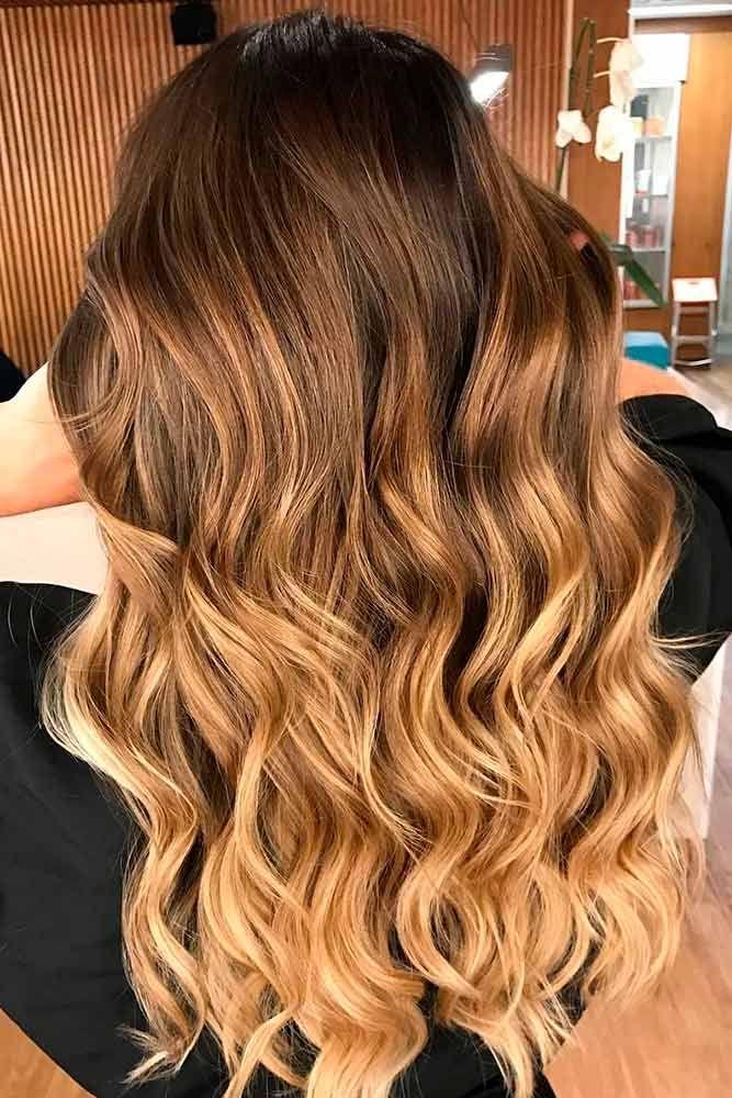 ombr hair sur brune coiffure avantaprs les stars changent de tte pour lut de brune beaut with. Black Bedroom Furniture Sets. Home Design Ideas