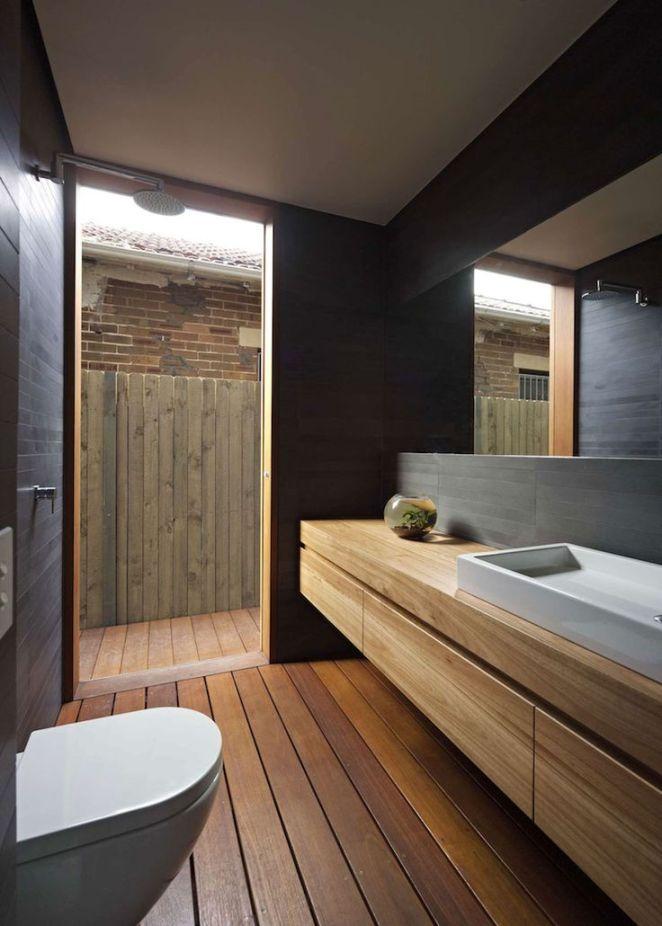Beautiful deco salle de bain bois pictures design trends - Idee deco salle de bain bois ...