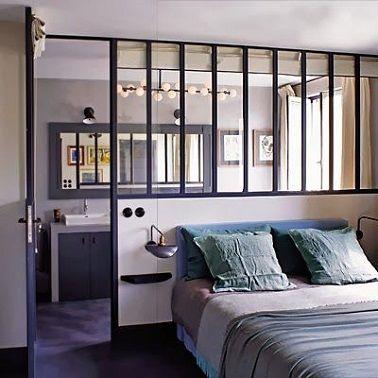 d co salon une verri re dans la chambre parentale est. Black Bedroom Furniture Sets. Home Design Ideas