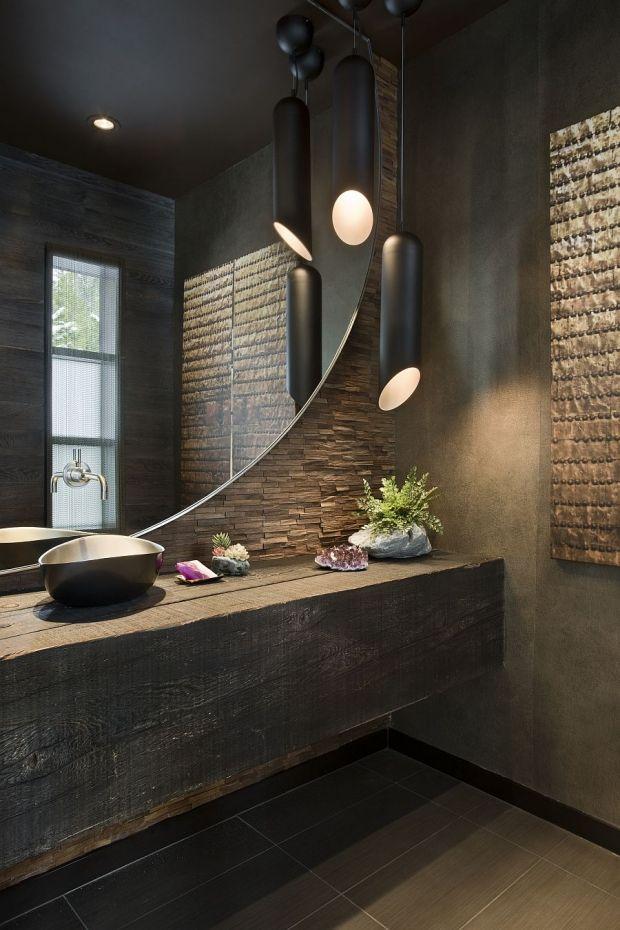 idée décoration salle de bain - design de la salle de bain en ... - Salle De Bain Pierre Et Bois