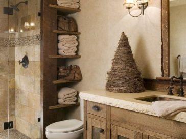 Id e d coration salle de bain id e unique de design for Idee deco salle de bain rustique