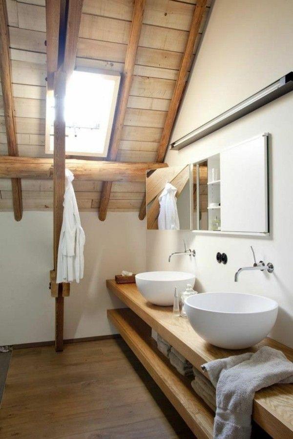 Id e d coration salle de bain salle de bain meuble sur for Idee deco sur meuble